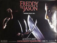 Freddy Vs Jason 44x58 Giant Subway Movie Poster 2003