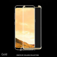 NUGLAS Full 3D Tempered Glass Screen Protector For Samsung Galaxy S8/S8 Plus