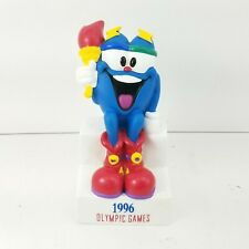 Vintage 1996 Izzy Atlanta Olympic Games Vinyl Coin Bank