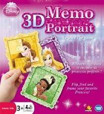 DISNEY Principessa 3D MEMO Portrait GIOCO NUOVISSIMO E SIGILLATO a basso costo!!