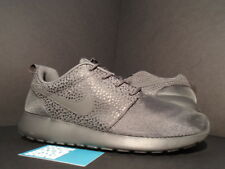 Nike ROSHE RUN ROSHERUN PREMIUM MIDNIGHT FOG GREY BLACK SAFARI 525234-001 NEW 10