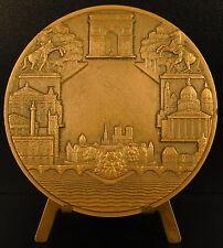 Médaille 1971 la Ville de Paris aux artistes de l'armée soviétique URSS medal