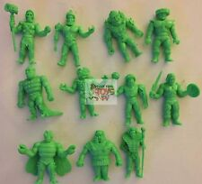 "Super7 GREEN LOT x 11 TRASH CAN SDCC 2016 MUSCLE Masters Of The Universe 2"" Inch"