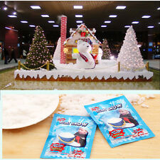 2x Magic Instant Snow Fluffy Super Absorbant Decorations For Christmas WeddingBH
