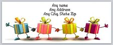 30 Personalized Return Address Labels Christmas Buy 3 get 1 free (ac 230)