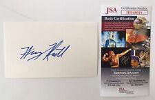 Harvey Keitel Signed Autographed 3x5 Card JSA Certified