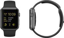 Apple Watch Sport 42mm Generation 1 Spacegrau Schwarz Aluminium Sportarmband