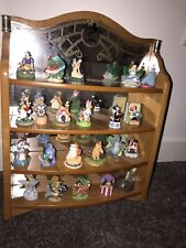 Disney Lenox Thimble Figurines and Shadow Box - Lot of 22 Characters Mickey