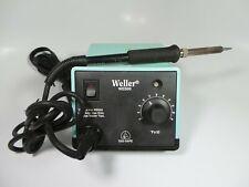Weller Wes50adjustable Temperature Soldering Station Base Unit Amp Iron