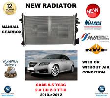 FOR SAAB 9-5 YS3G 2.0 TiD 2.0 TTiD 2010->2012 NEW RADIATOR OE QUALITY