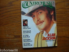 Country Music Magazine Alan Jackson Cover March/April 1992