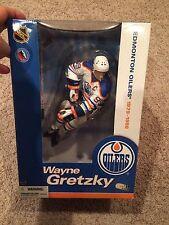 Wayne Gretzky Edmonton Oilers Vintage Hockey McFarlane Toys - Never Been Opened
