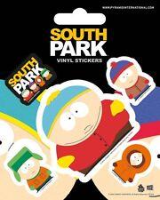 Vinyl Sticker / Aufkleber-Set SOUTH PARK - Cartman 1x7,5cm 4x2cm NEU PS7213
