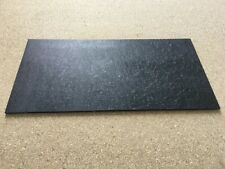 "KIRINITE: Black Ice 1/4"" 6"" x 12"" Sheet for Wood Working, Knife Making"