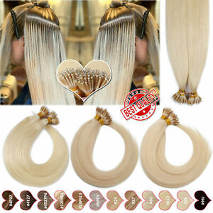 THICK Micro Easy Loop Nano Ring Beads Human Hair Extensions Real Remy Hair 150G+