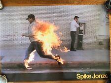 Huge Rare Spike Jonze Directors Label Criterion Collection Poster Skateboarding