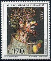 # ITALIA ITALY - 1977 - Arcimboldi - Inverno - Art Painting - Stamp MNH
