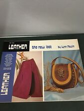 70's Vintage Leather The New Look Step By Step Instruction Pattern Craft Booklet