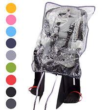 Regenverdeck Regenschutz Regenhaube für Kindersitz auf Fahrrad Kinderfahrradsitz