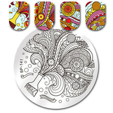 Nail Art Stamping Plate Flower Vase mage Stamp Template DIY Born Pretty BP-141