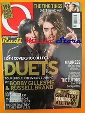 Q Magazine 265/2008 Bobby Gillespie Russell brand Madness Paul Weller  No cd