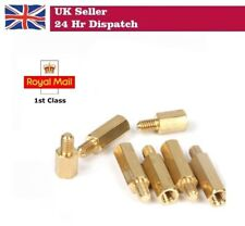 Brass M2.5 20mm Standoffs for Pi HATs - Pack of 2