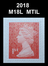 2018 - 1st - M18L - MTIL  Single Stamp from Booklet on SBP2u Paper