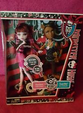 MONSTER HIGH - Clawd Wolf and Draculaura Music Festival GIFT SET New in Box