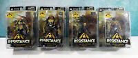 DC Direct PS3 Resistance Series 1 Complete Set of 4 Action Figures Sealed 2009