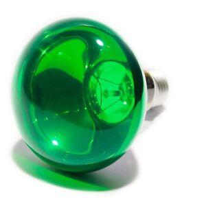 GREEN 60W R80 R080 Coloured Reflector Disco Spot Light Bulb ES E27 Screw Lamp