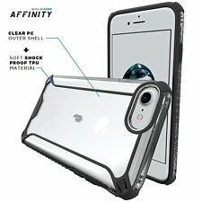 Poetic Affinity【Premium Thin Protective】Bumper Case For Apple iPhone7 Black