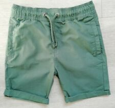 Boys M&S  khaki shorts age 7-8. Brand new without tags