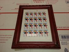 Sheet of 20 US Postage Stamps Olympic Winter Games Vancouver Stamps 2010 .44