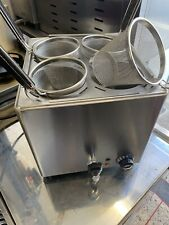 More details for pasta cooker with 4 straining baskets