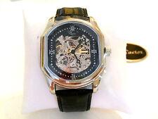 "FACTOR TIMEPIECES ""NEW YORK"" Mens Ltd. Ed. Skeleton Automatic Watch Retails $3K"