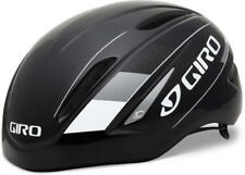 GIRO : HELMET : AIR ATTACK : BLACK/ SILVER : SMALL