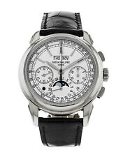 Patek Philippe Grand Complications Chronograph 18k White Gold Watch 5270G