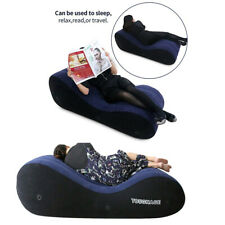 Multifunction Inflatable Pillow Blow Flocking Cushion Pad Sofa Furniture