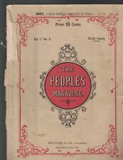 The People's Magazine September 1878 Henry Stanley Exploring Africa