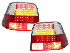 Fanali posteriori LED VW Golf IV 1997-2004 red/crystal