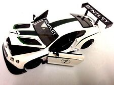 Race Bentley Continental GT3 #7 Italian Design 1:24 Diecast Metal By Burago Toys