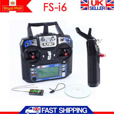 Flysky FS-i6X 6CH 2.4G AFHDS 2A RC Transmitter With FS-iA6B RX for RC Helicopter