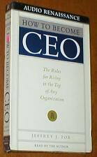 How To Become CEO - The Rules to The Top - New Audiobook on 1 Cassette Tape