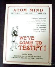 CHARLES BUKOWSKI: Two Poems - ATOM MIND #9 - Mint / Free Shipping