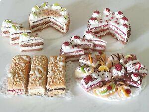 1:12 Puppenhaus Cafe Miniaturen Konvolut