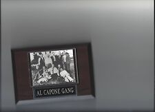 AL CAPONE GANG PLAQUE MAFIA ORGANIZED CRIME MOBSTER MOB