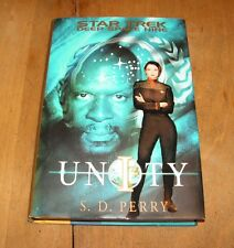 UNITY   Star Trek Deep Space Nine series  by S. D. Perry 2003, HB/DJ