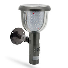 Solar Surveillance Camera PIR Motion Detection Security Video SD DVR System
