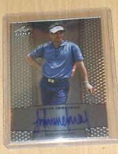 2012 Leaf Metal Golf Trevor Immelman base autograph SP /119