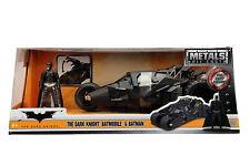 Jada Diecast Metal 1:24 Scale Batman Vehicle Batmobile Dark Knight Tumbler New